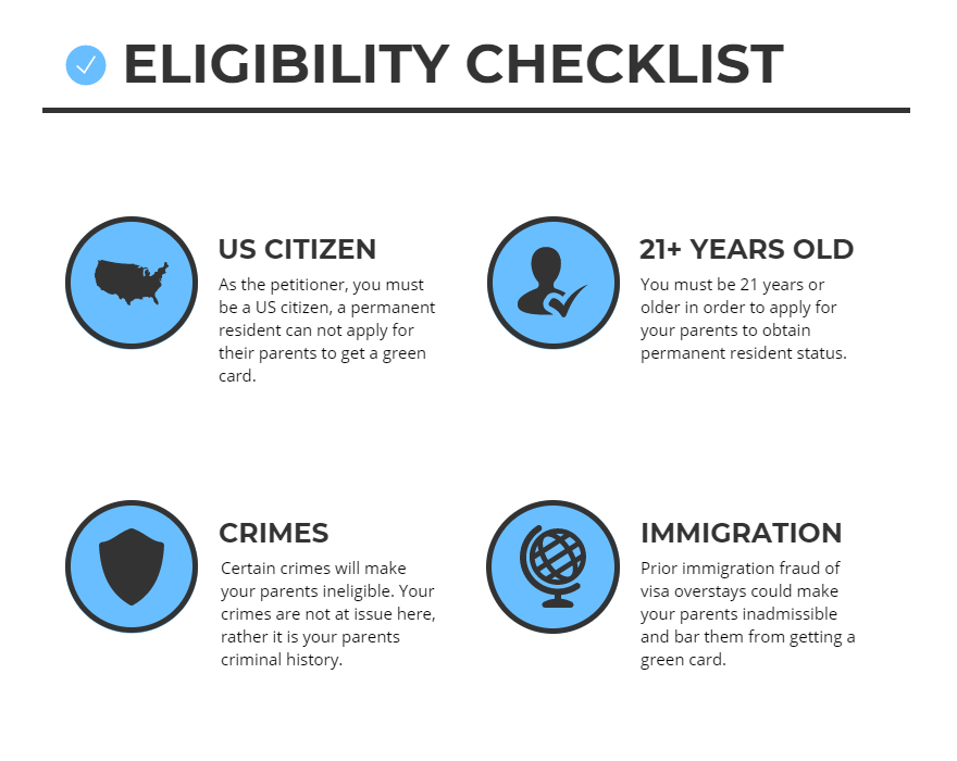 How to Get a Green Card for your Parents: The Definitive Guide [2019]