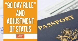 90 day rule and adjustment of status