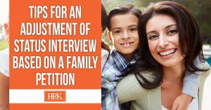 tips for an adjustment of status interview