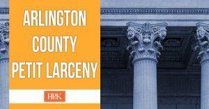 arlington county petit larceny