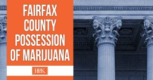 fairfax possession of marijuana